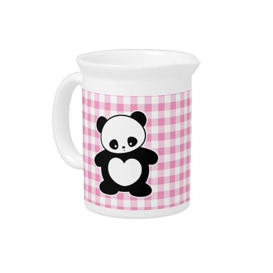 Kawaii panda pitchers