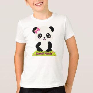 Kawaii Panda Ringer Tee