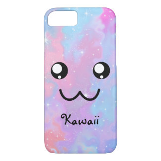 Kawaii Pastel Colorfull Space Background iPhone 8/7 Case
