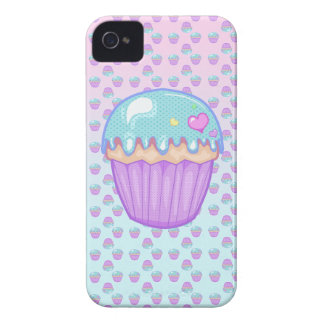 Kawaii Pastel Cupcake PhoneCase iPhone 4 Case-Mate Cases