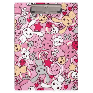 Kawaii pattern clipboard