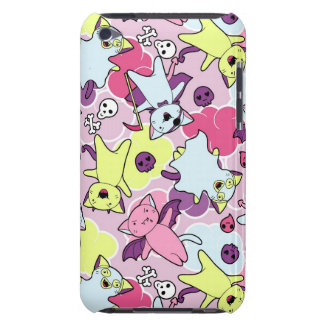 Kawaii pattern of Halloween cats Barely There iPod Cover
