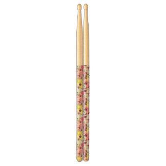 Kawaii pattern of Halloween cats Drumsticks