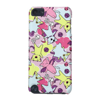 Kawaii pattern of Halloween cats iPod Touch (5th Generation) Cases