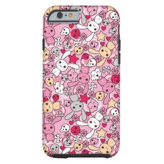 Kawaii pattern tough iPhone 6 case