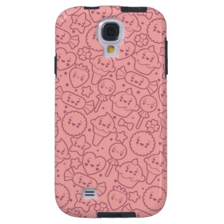 Kawaii pattern with cute cakes galaxy s4 case