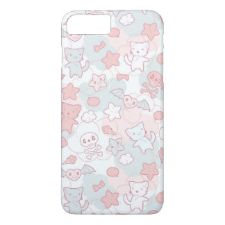 kawaii pattern with doodle iPhone 8 plus/7 plus case