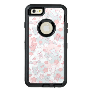 kawaii pattern with doodle OtterBox defender iPhone case