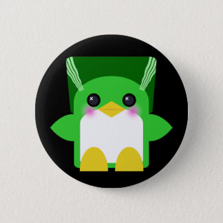Kawaii Penguin Bride Of Frankenstein 6 Cm Round Badge
