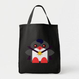 Kawaii Penguin Vampire Tote Bag