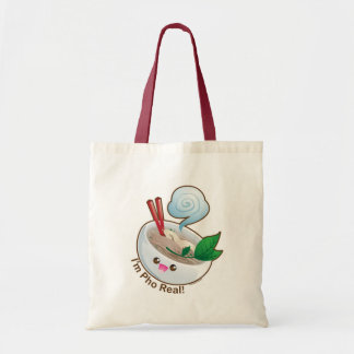 Kawaii Pho Real Tote Bag