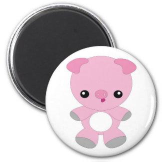 Kawaii pig magnet