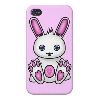 Kawaii Pink Bunny iPhone 4/4S Cover