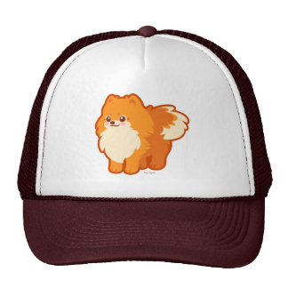 Kawaii Pomeranian Cartoon Dog Cap