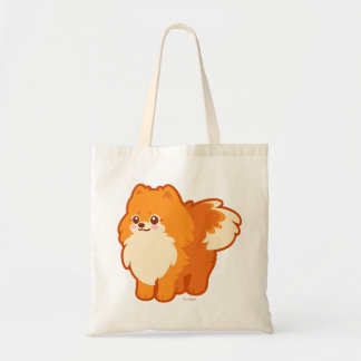 Kawaii Pomeranian Cartoon Dog Tote Bag