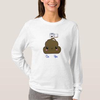 Kawaii poo & toilet paper T-Shirt