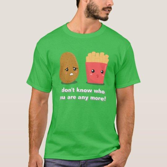 Kawaii Potato and French Fries T-Shirt
