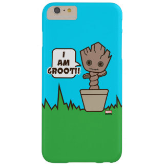 Kawaii Potted Groot Barely There iPhone 6 Plus Case