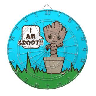 Kawaii Potted Groot Dartboard