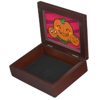 Kawaii pumpkin keep sake box memory box