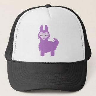 Kawaii Purple Llama Trucker Hat