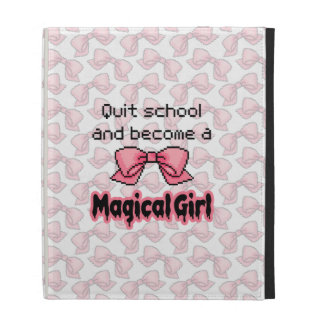 kawaii quit school become a magical girl melty iPad folio cover