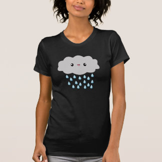Kawaii Rain Cloud ladies t-shirt