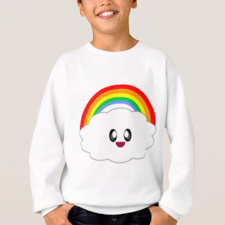 KAWAII RAINBOW CLOUD CUTE OVERLOAD SWEATSHIRT