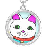 Kawaii Rave Lucky Cat Maneki Neko Custom Necklace