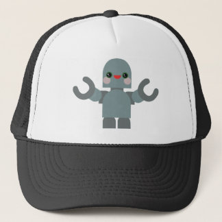 Kawaii Rave Robot Trucker Hat