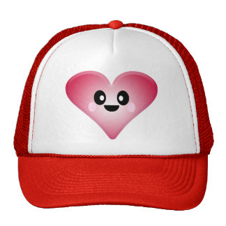 KAWAII RED HEART VALENTINE'S DAY LOVE CAP