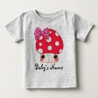 Kawaii red mushroom infant T-Shirt