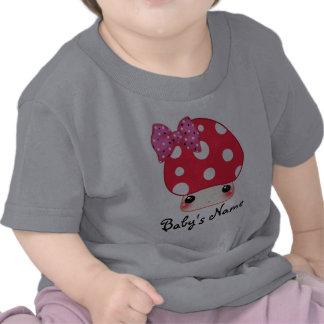 Kawaii red mushroom tee shirt