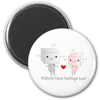 Kawaii Robots Magnet