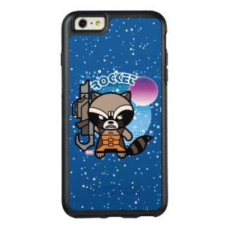 Kawaii Rocket Raccoon In Space OtterBox iPhone 6/6s Plus Case