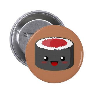 Kawaii Roll 6 Cm Round Badge