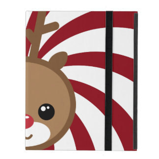 Kawaii Rudolph Reindeer iPad Case