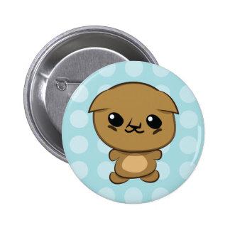 Kawaii Scottish Fold Munchkin Kitten button
