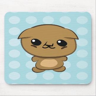 Kawaii Scottish Fold Munchkin Kitten mouse pad