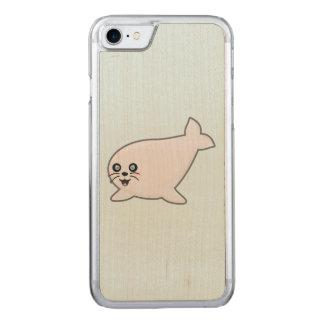 Kawaii Seal Carved iPhone 8/7 Case