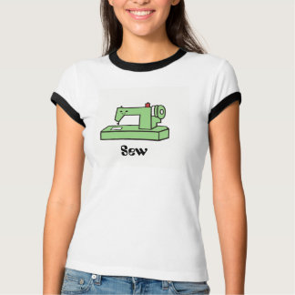 Kawaii Sewing Machine T- Shirt
