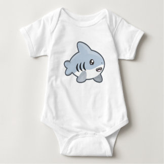 Kawaii Shark Baby Bodysuit