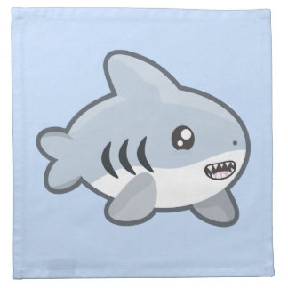 Kawaii Shark Napkin