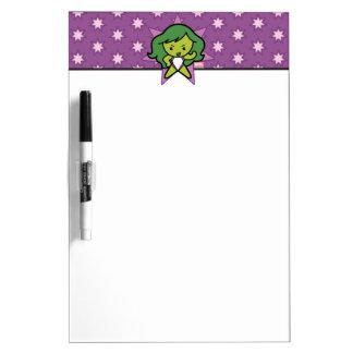 Kawaii She-Hulk Flex Dry Erase Board