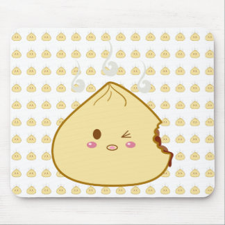 Kawaii SioPao Meatbun Bitemark Mouse Pad
