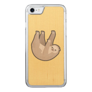 Kawaii Sloth Carved iPhone 8/7 Case