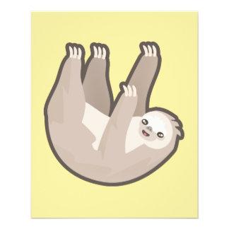 Kawaii Sloth 11.5 Cm X 14 Cm Flyer