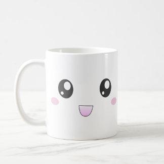 Kawaii smiley face mug