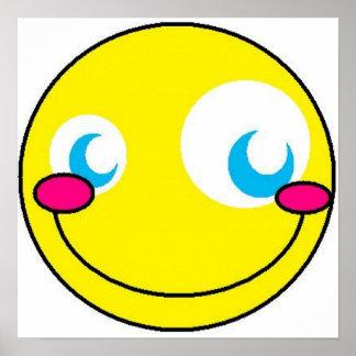 Kawaii Smiley Posters