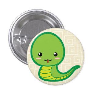 Kawaii Snake 3 Cm Round Badge